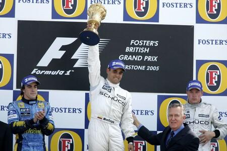Montoya Silverstone F1 2005