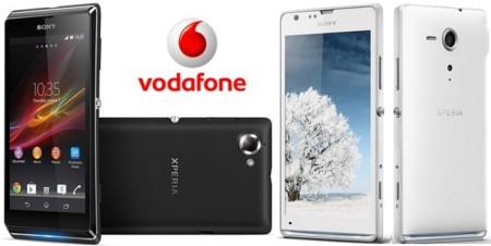 Precios Sony Xperia SP y Xperia L con Vodafone