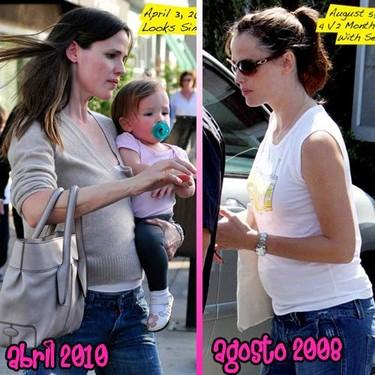 ¿Estará Jennifer Garner de nuevo embarazada?