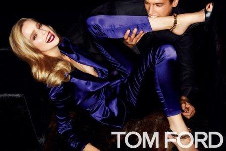 Las dentelladas de Tom Ford a Mirte Maas en la campaña Primavera-Verano 2012
