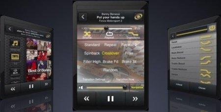 MyTunes, opciones de transición entre canciones