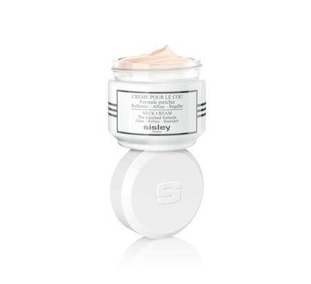 Sisley innova y presenta una nueva fórmula de la Crème pour le Cou para aportar una acción afinante