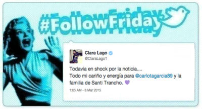#FollowFriday de Poprosa: el día de la mujer trabajadora, Santi Trancho y lo mejor de la semana