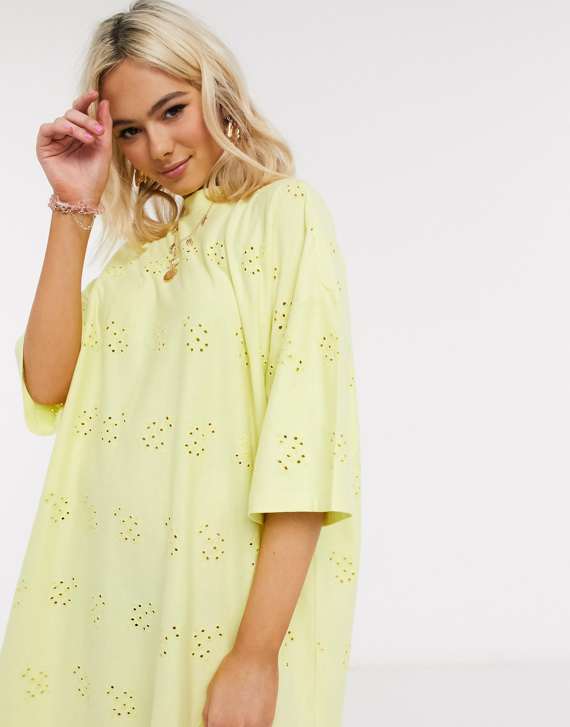 Mini vestido camiseta