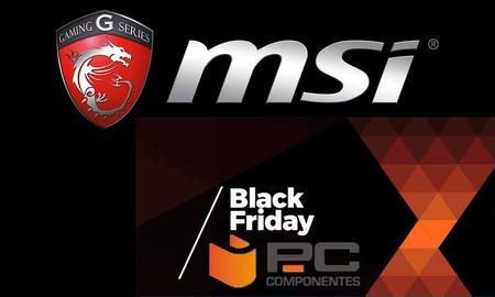 Día MSI en el Pre Black Friday de PcComponentes: equipos MSI a mejores precios y sorteo de un portátil gaming