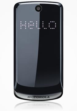 Motorola Gleam, un estiloso y sencillo móvil de Motorola