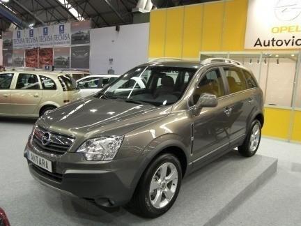 Opel Antara, fotos en el Salón de Vigo