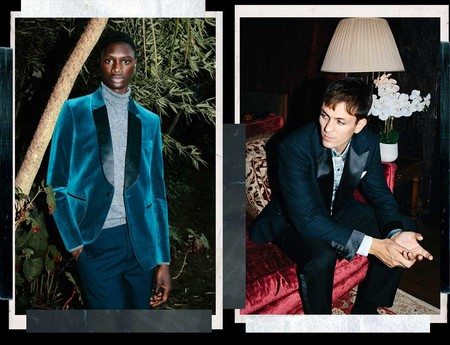 Charlie Casely Hayfrod Collection Festive Winter Evening Topman Menswear Trend