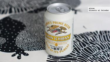 Cata de cerveza japonesa Kirin Ichiban