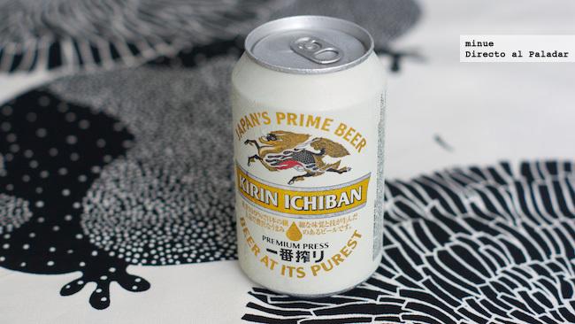 Cerveza kirin ichiban - lata