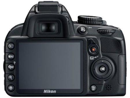 Nikon D3100 pantalla