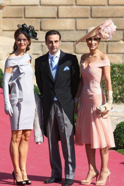 Paloma Cuevas y Vicky Martín Berrocal: los dos looks más llamativos de la boda de Rafael Medina y Laura Vecino