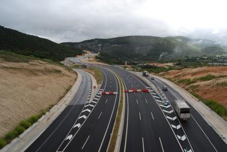 Carretera cortada por obras