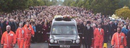 Joey Dunlop Funeral