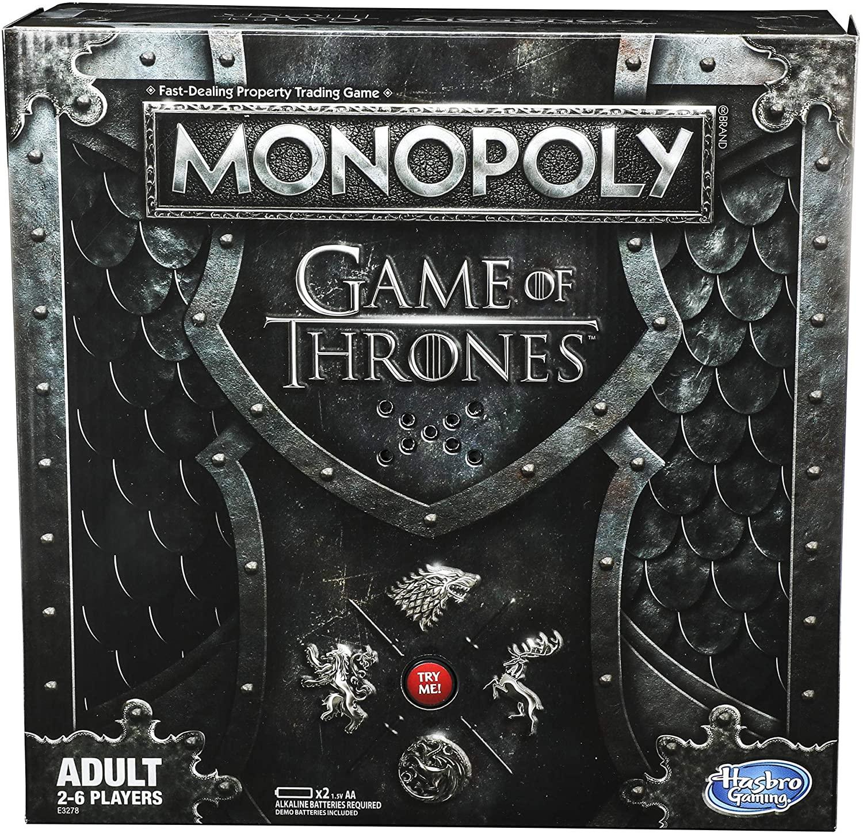 Hasbro Gaming - Monopoly Game Of Thrones- Juego de mesa para adultos [Versión inglesa]