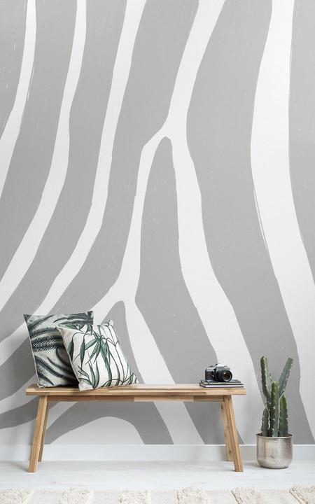 Animal print sutil y elegante en colecciones de papel pintado