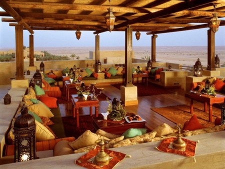 The Al Sarab Rooftop Lounge Located In The Bab Al Shams Desert Resort Of Dubai Overlooks Miles Of The Arabian Desert And Offers Stunning Views During Sunsets