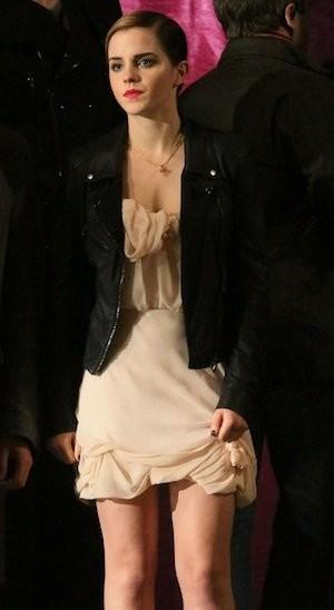 Las primeras imágenes de Emma Watson y Lancôme