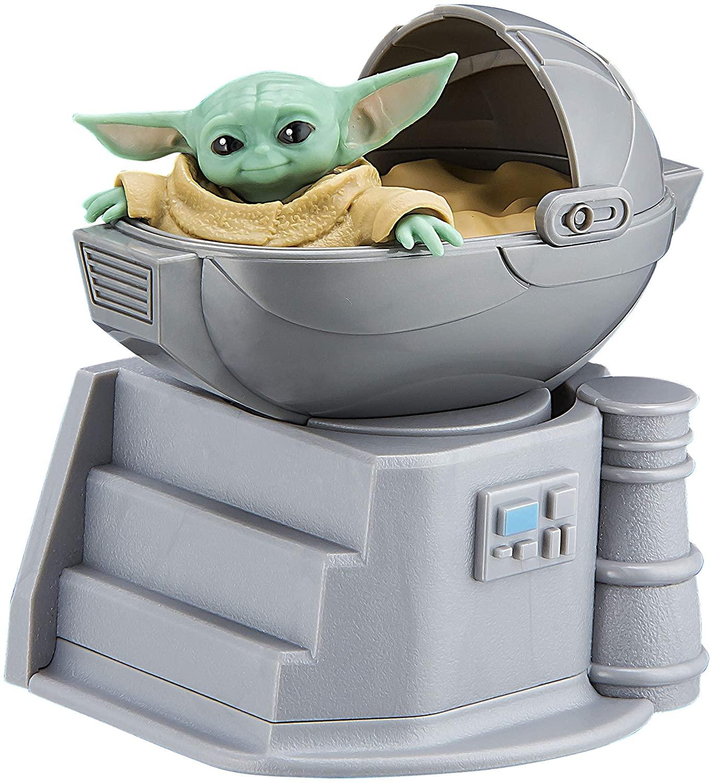 Star Wars - Bocina Bluetooth portátil inalámbrica para el hogar, viajes, al aire libre, recargable, diseño de Baby Yoda