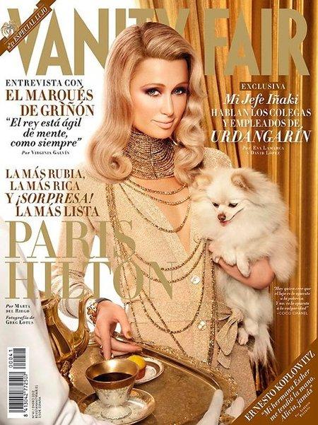 Paris Hilton en Vanity Fair, ¿era necesario inaugurar el año con ella?