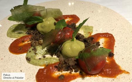 Plantación de tomates del restaurante Bib Gourmand Juan Moreno de Almería