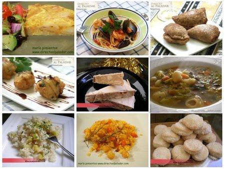 El Menú Semanal en Directo al Paladar, del 15 al 21 de diciembre
