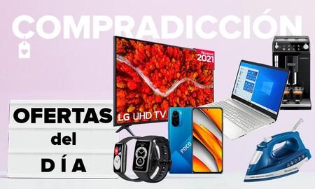 Ofertas del día en Amazon: smart TVs LG, portátiles HP, smartphones Pocophone o Realme, relojes y pulseras Huawei o cafeteras De'Longhi a precios rebajados