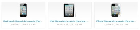 Los manuales de iOS 5 disponibles para descarga
