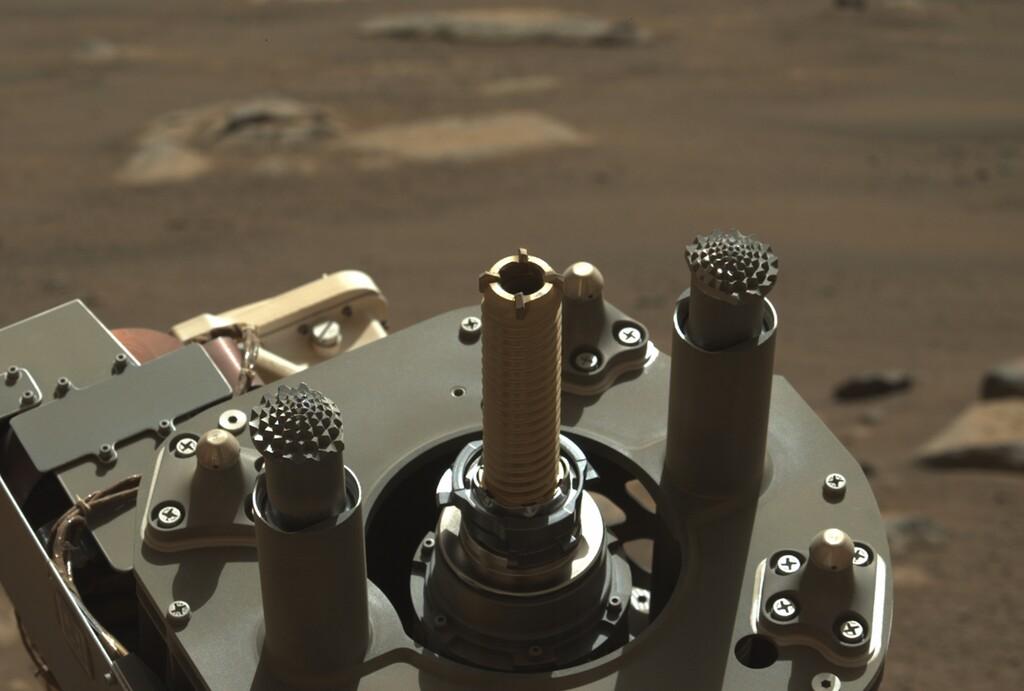 Perseverance lo ha conseguido: almacena una muestra de roca marciana por primera vez