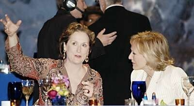 Meryl Streep, Glenn Close y Vanessa Redgrave en 'Evening', de Lajos Koltai