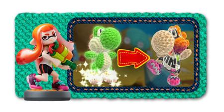 Yoshi también se contagia de la fiebre de Splatoon en Yoshi's Woolly World