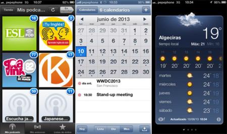iOS 6. Ejemplos de mal diseño, interacción y funcionalidad