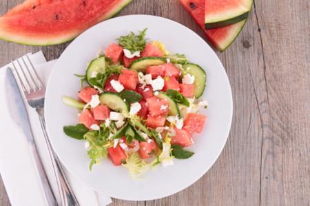 Diferentes recetas con sandía para aprovechar esta fruta de temporada