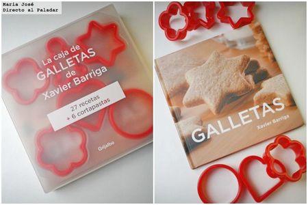 La caja de galletas de Xavier Barriga. Libro de recetas