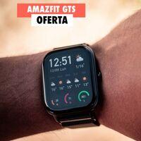 El popular Amazfit GTS, un reloj inteligente con GPS y una autonomía brutal, en oferta por San Valentín: llévatelo por 84 euros