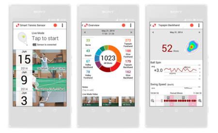 Smart Tenis Sensor App
