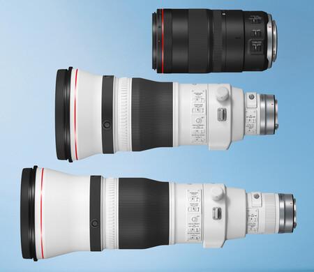 Canon presenta los superteleobjetivos RF 400 mm f/2,8L IS USM y RF 600 mm f/4L IS USM y el RF 100 mm f/2,8L Macro IS USM