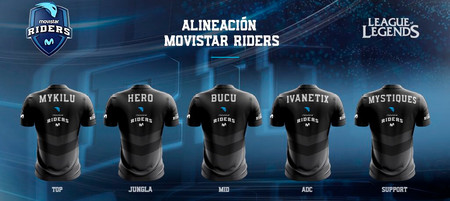 Roster Movistar Lol