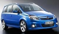 Opel Zafira OPC con motor biturbo diésel