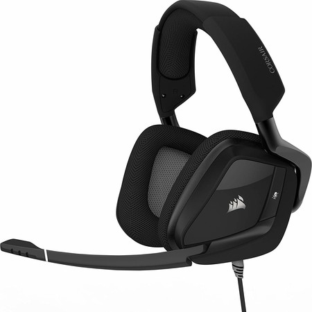 Corsair Void Pro Rgb Usb Auriculares Gaming Pc Usb Dolby 7 1 Alambrico Negro