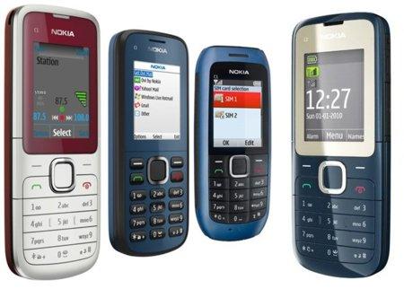 Nokia amplia la serie C con telefonos asequibles y doble SIM