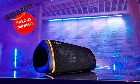 Sony SRS-XB43, un potente altavoz Bluetooth con NFC que ahora te puedes llevar a precio mínimo en Amazon