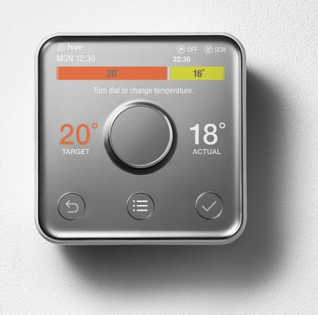 El nuevo termostato Hive rivaliza en aspecto e inteligencia con el de Nest