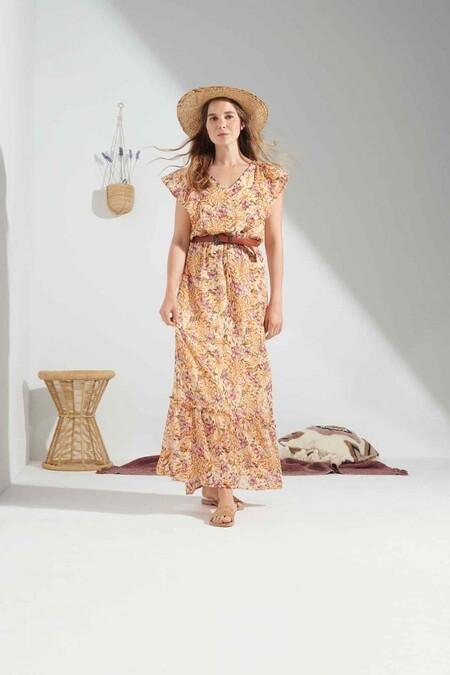 Natalia Sanchez Lidl vestido