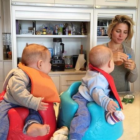 Elsa Pataky nos vuelve a enseñar a los mellizos más sanotes del mundo