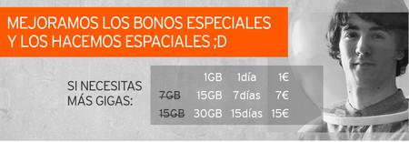 Simyo mejora sus bonos especiales con más datos por el mismo precio: hasta 30 GB por 15 euros