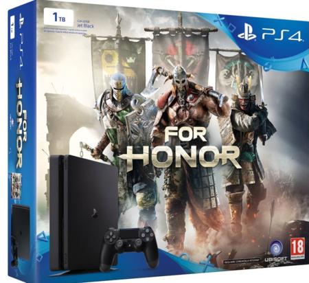 PlayStation 4 Slim, de 1TB de capacidad, más el juego For Honor por 289,90 euros