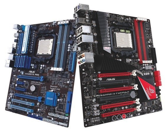 Asus AMD 890FX Motherboards