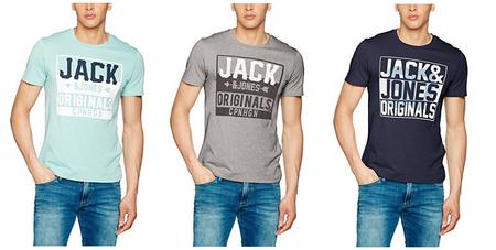 Renueva el armario con estas camisetas de Jack & Jones Jorletter Tee Crew Neck por 9,99 euros en Amazon