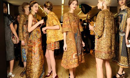 Dolce & Gabbana declinan a la emperatriz Teodora en todas las versiones posibles